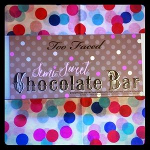 Too Faced semi sweet chocolate bar palette au